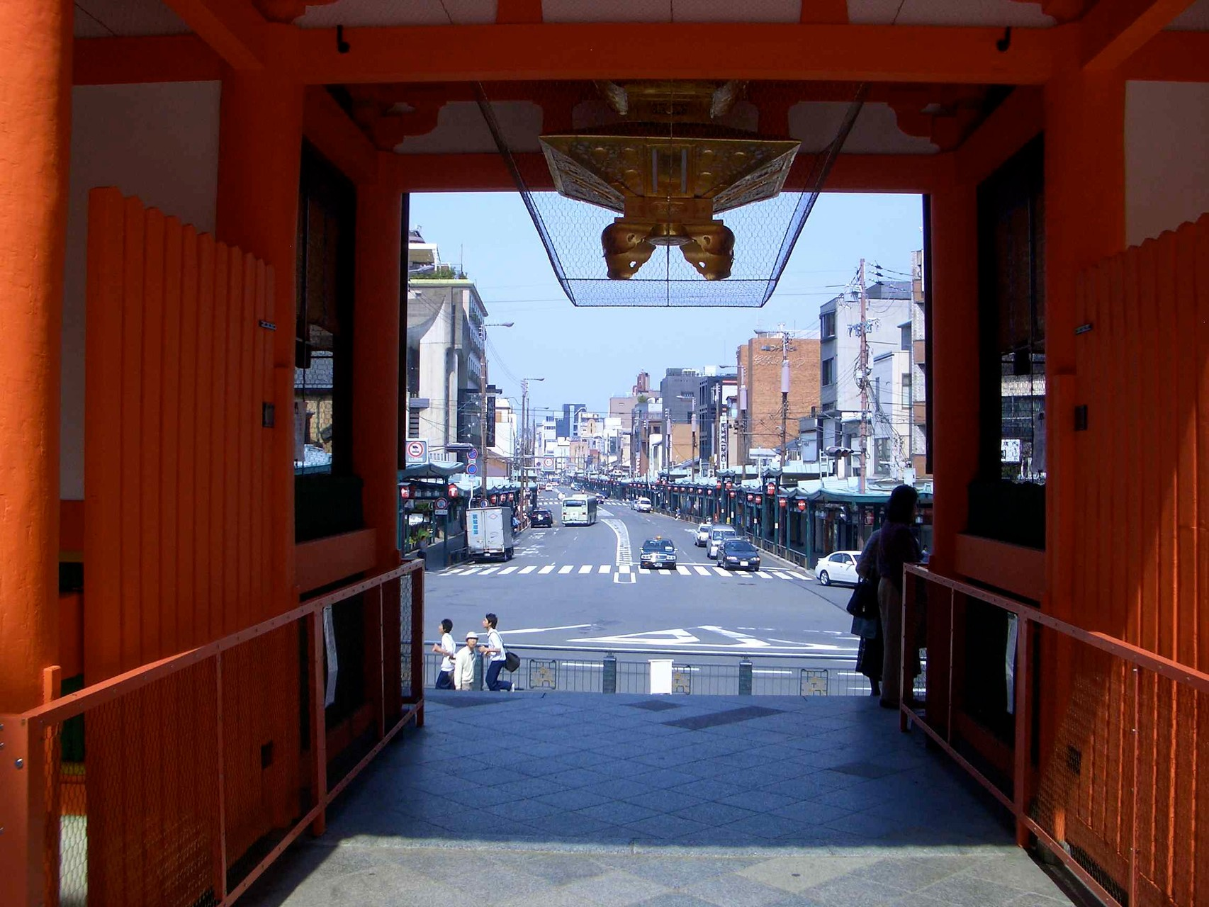 to Kyoto street