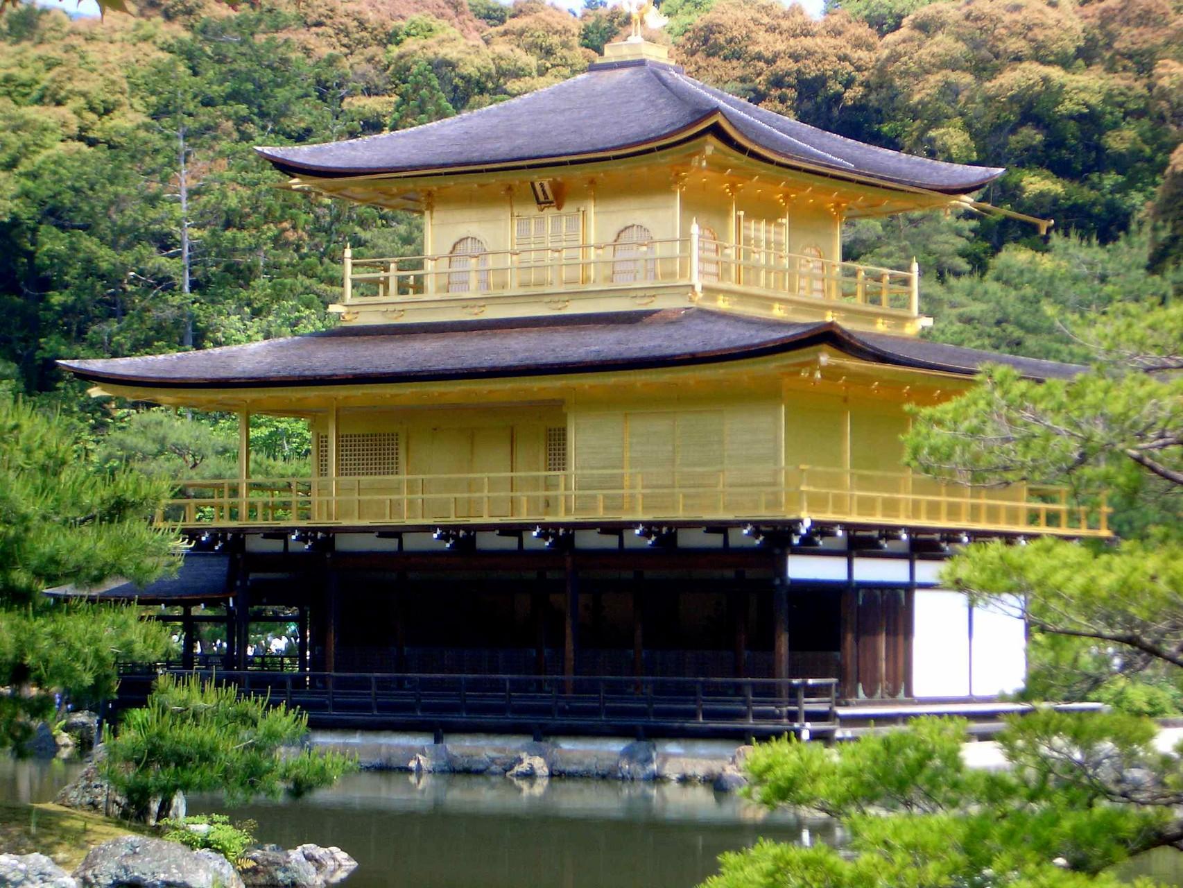 24 carat gold,Golden Pavilion