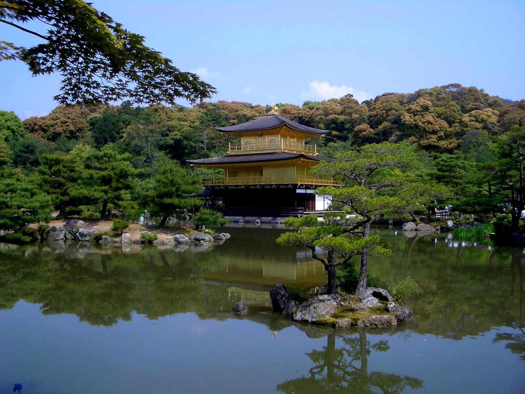 Rokuon-ji Tempel