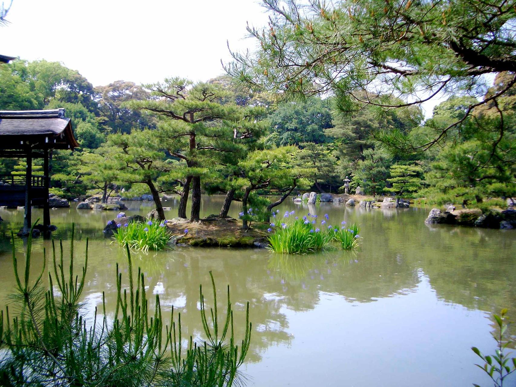 Zen Garden Golden Pavilion-2