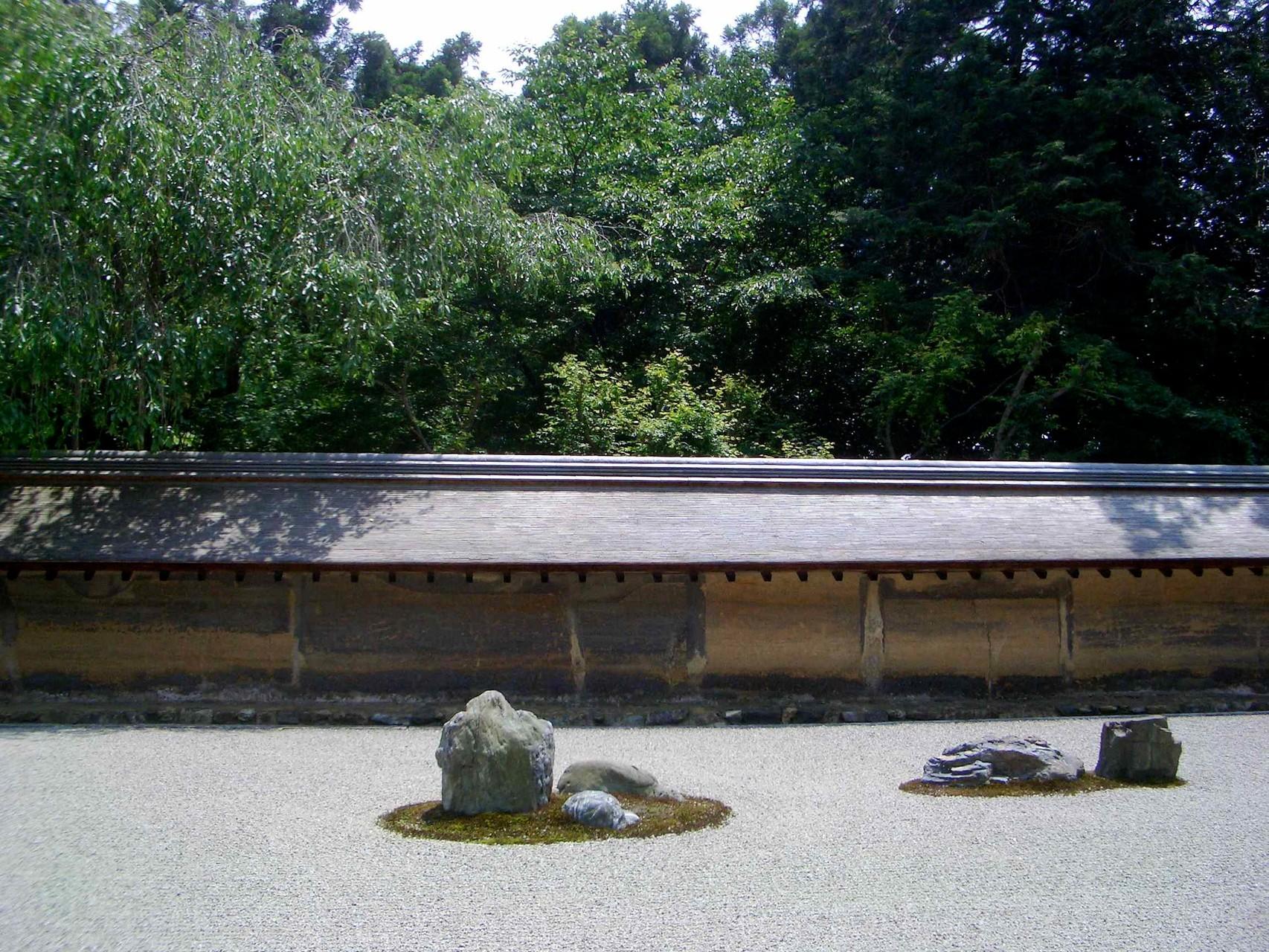 The Rock Garden of the Rinzai-Zen School