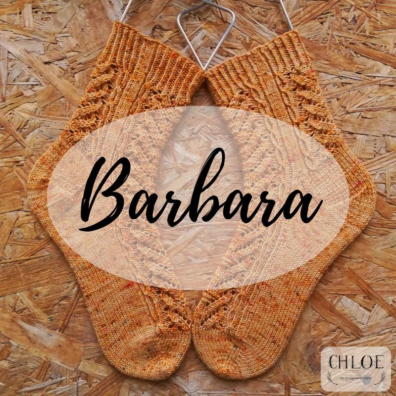 Barbara: une dentelle simple pour un résultat époustouflant.   Patron GRATUIT.