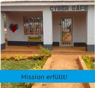 Mission Kongo - Schulbänke für Irundu - Mission erfüllt!