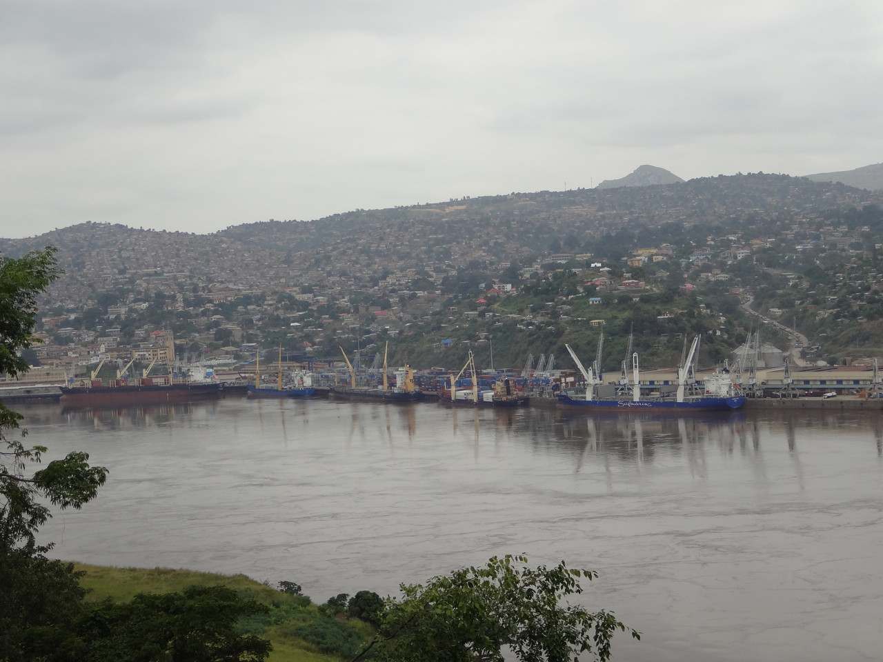 Der Hafen von Matadi