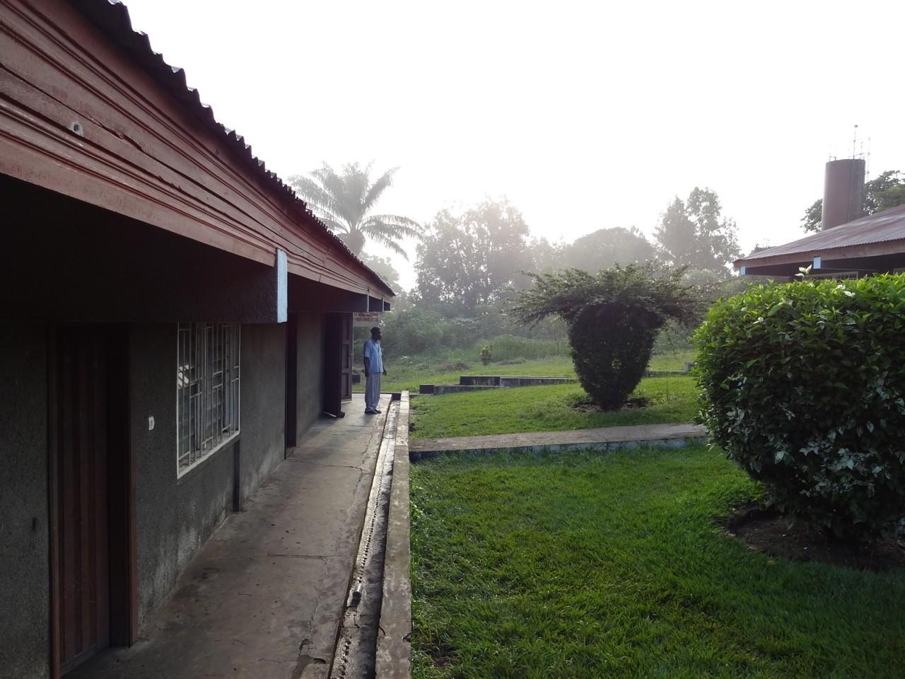 Unsere Unterkunft in Kisantu