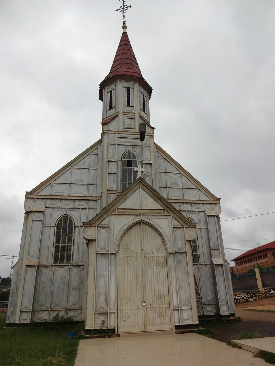 "Boma ""Cathedrale de Notre Dame de Assomption"" - Erste Kirche in Zentral Afrika von 1890"