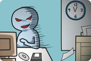 休日出勤・深夜勤務は誰にも邪魔をされずに、やりたい放題