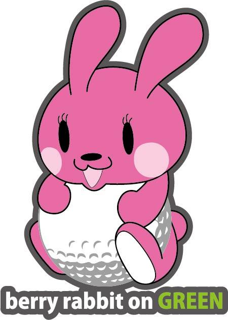 ゴルフウェア ウサギモチーフ