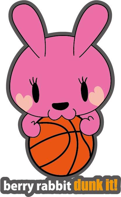 バスケットボール うさぎ
