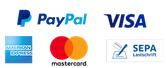 paypal visa amex mastercard sepa