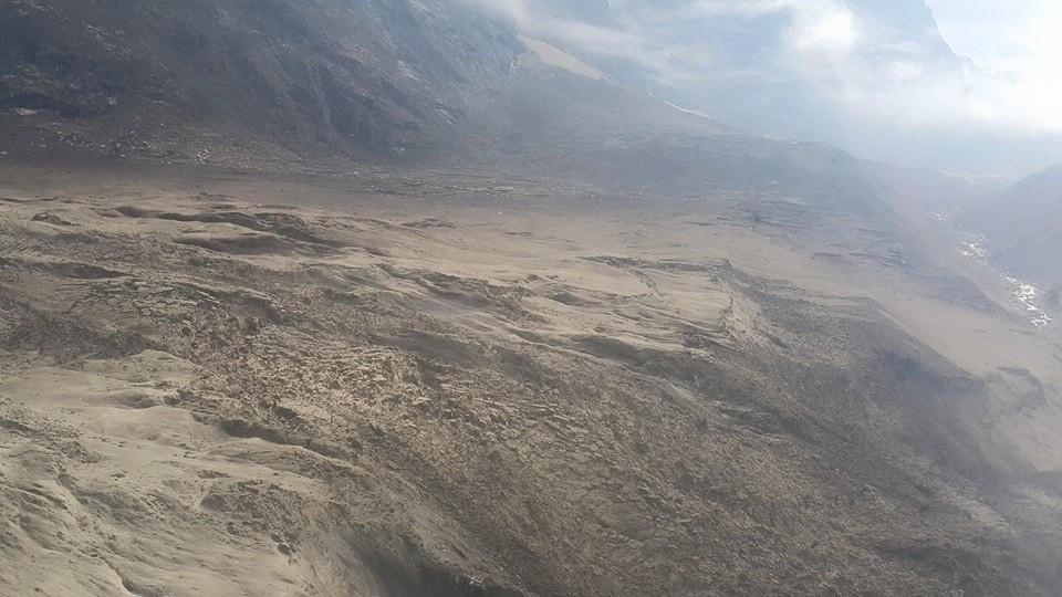 Langtang totalement détruit