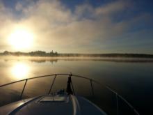 der Morgen am Niegripper See