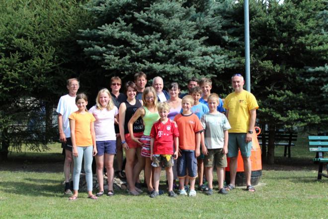 ... die Teilnehmer der Ferienfreizeit