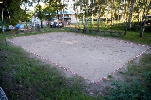Volleyballplatz