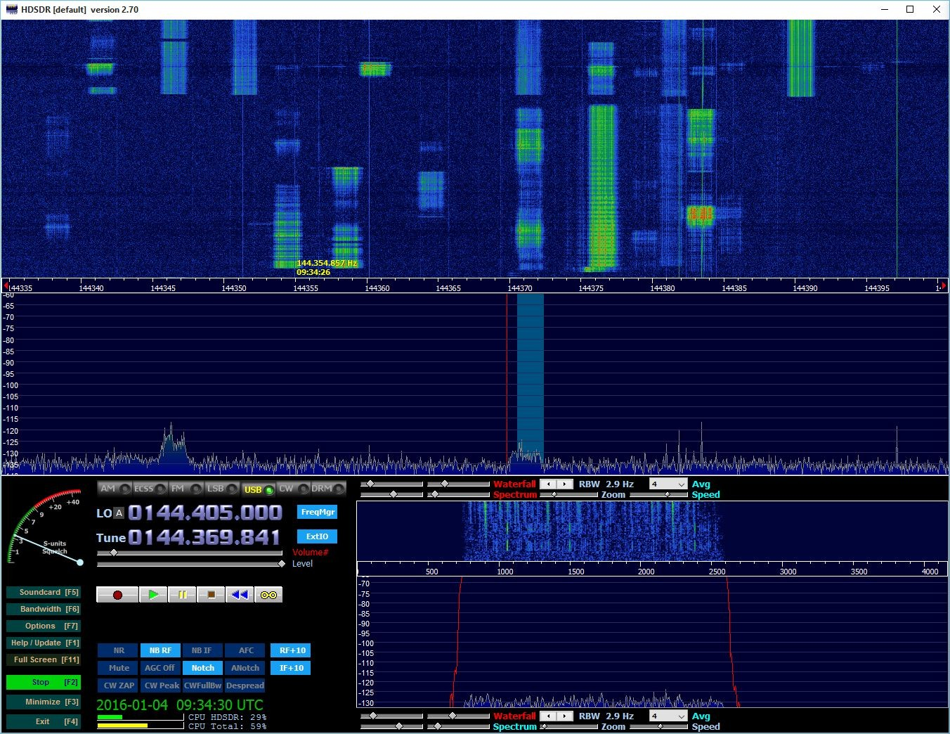 OH6KTL calling CQ on .370