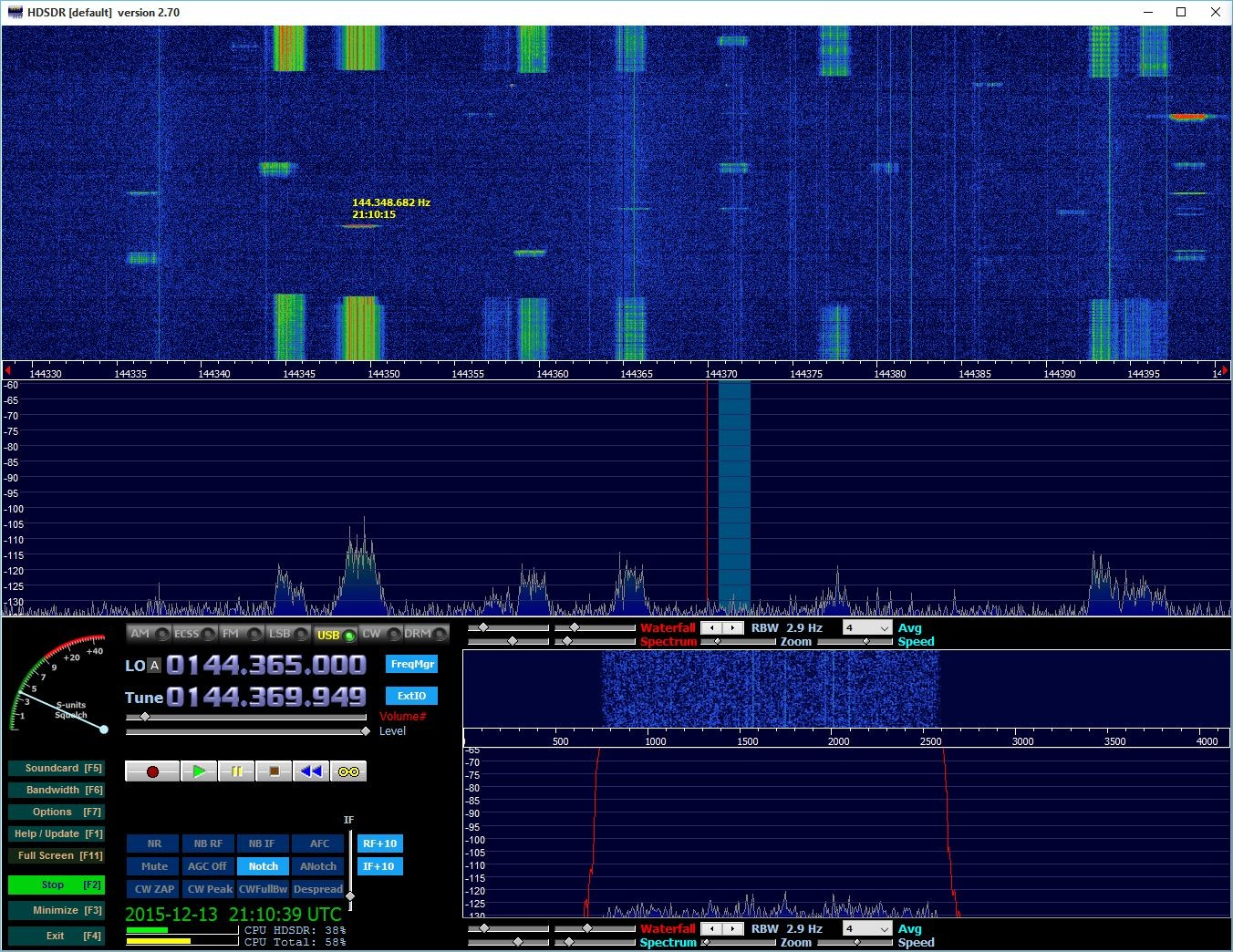 Running QSOs, pings and bursts in 1st and 2nd period
