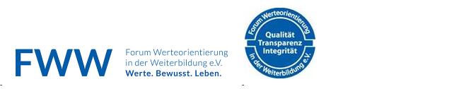 Forum Werteorientierung in der Weiterbildung e. V. - Werte. Bewusst. Leben.