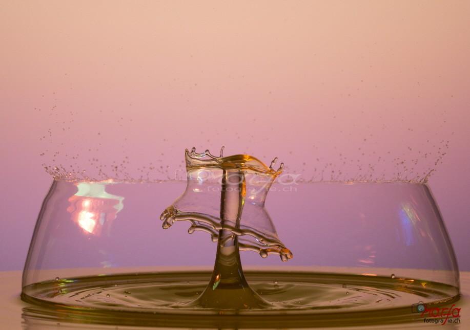 Highspeed Wassertropfen