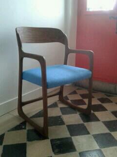 fauteuil Baumann traineau