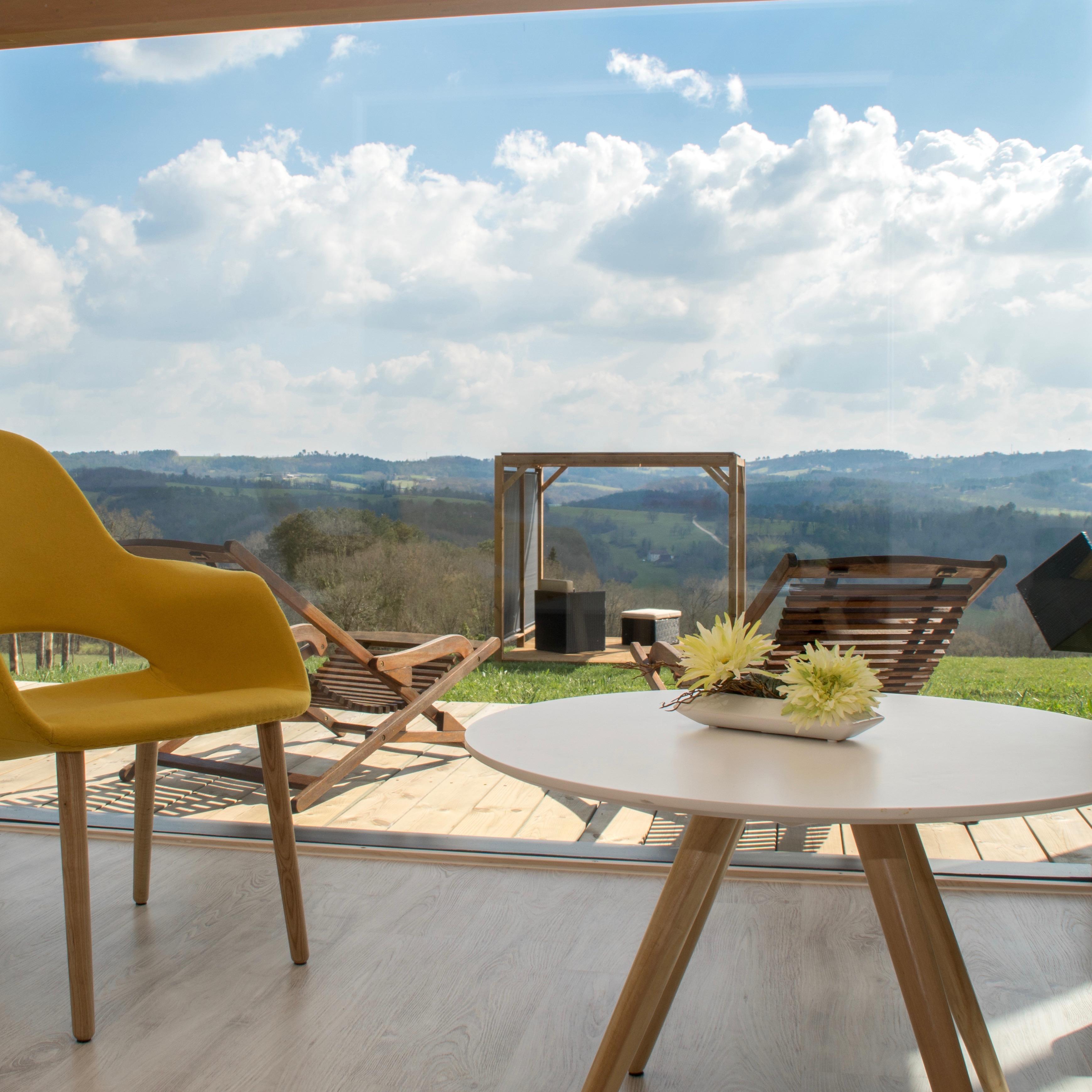 Découvrez une chambre de plein pied sur le jardin de la Villa Lascaux