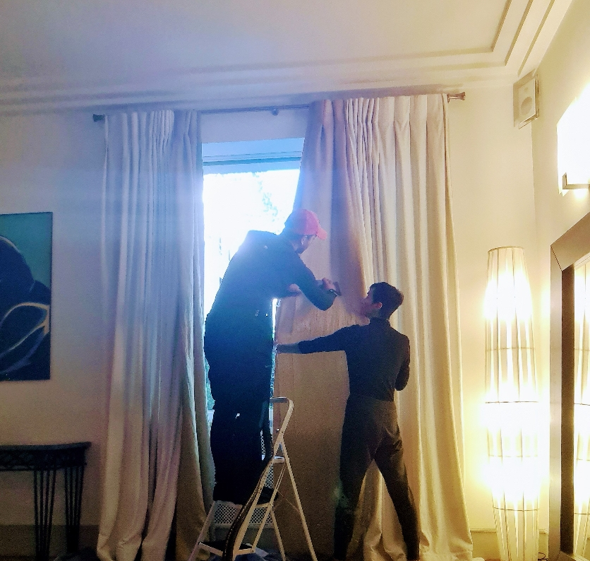 Nettoyage rideaux