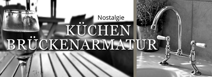 Nostalgie Küchen-Brückenarmaturen