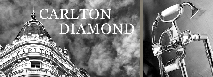 Elegante Armaturen-Serie CARLTON DIAMOND