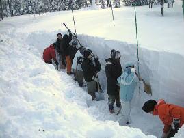 森林科学総合実習II (冬山実習)