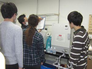 実験機器の説明