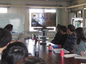 名寄実験室ガイダンス、TV会議システム
