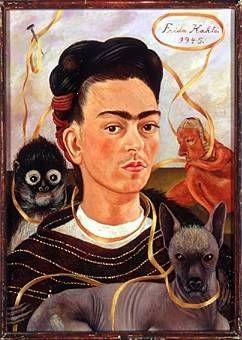 Frida Kahlo liebte uns Nackies sehr.
