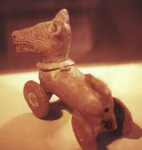 Spielzeug ca.2000 Jahre alt,Mexico
