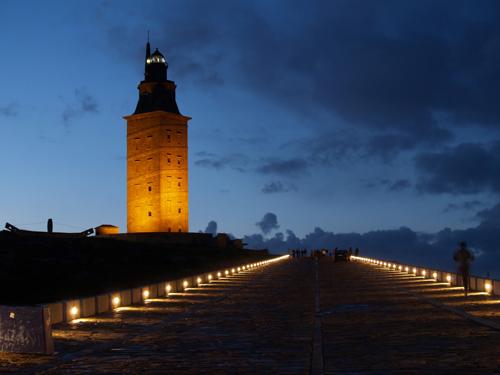 Far Alexandria, Torre Hercules, la Corunya, Galícia.