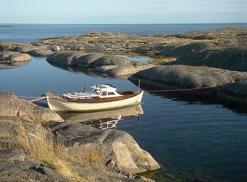 Cala Klovaskär, al sud de Finlàndia.