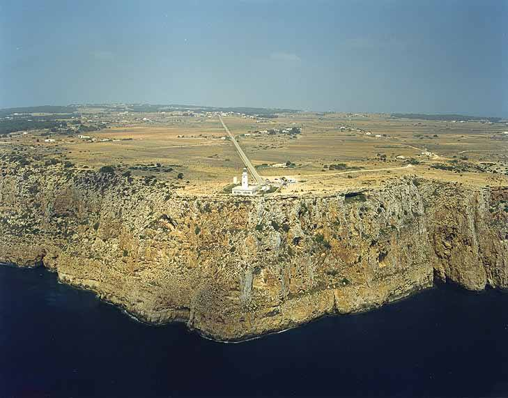 Far de la Mola a Formentera, Illes Balears.