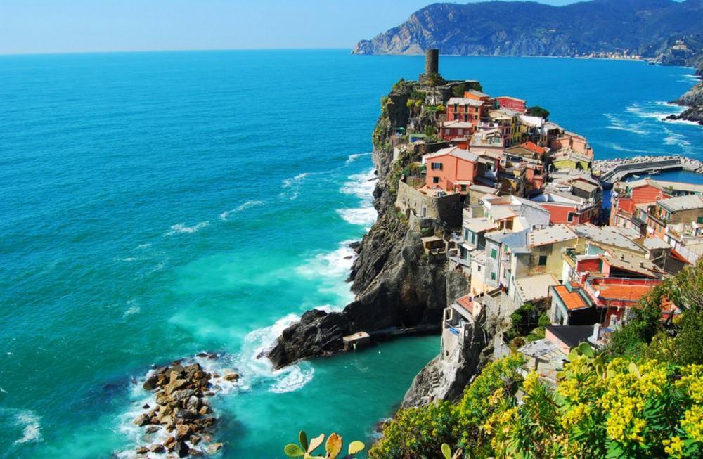 Cala a Vernazza, Itàlia.