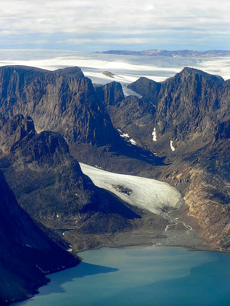 Cala a Terres de Baffin, Canadà.