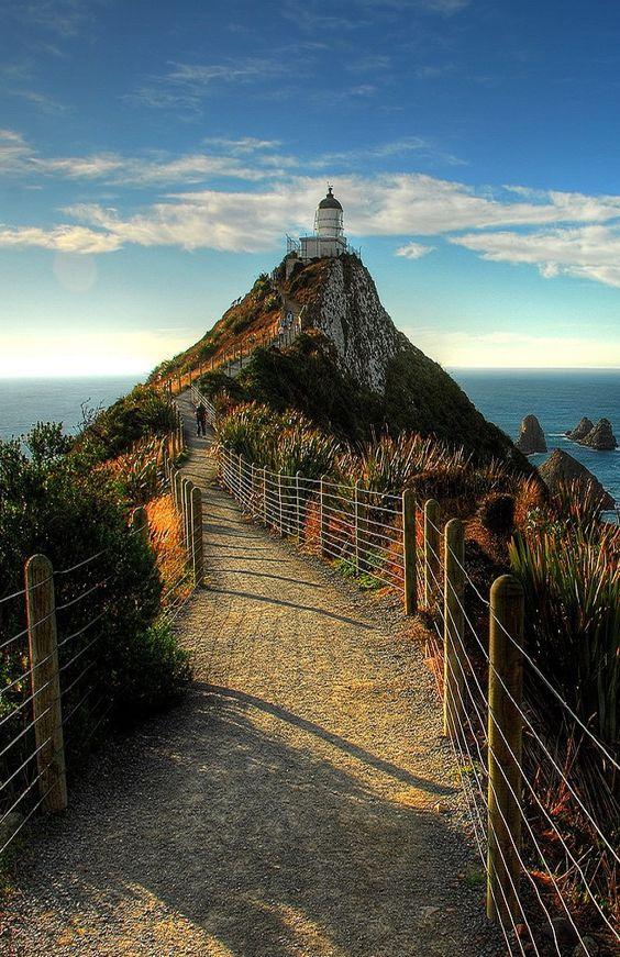 Far Nugget Point The Catlins, Nova Zelanda.