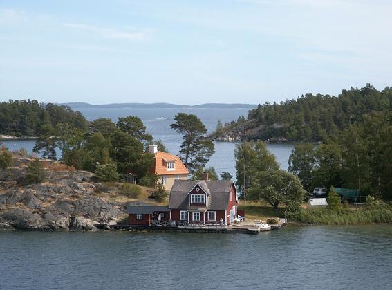 Cala i port de Nynäshamn O, Suècia. Foto: N. Kruk.
