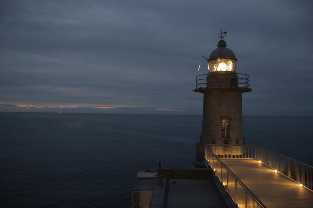 Faro de Lekeitio, Biscaia.