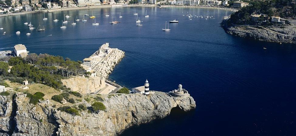 Far de Sa Creu de Sóller, Mallorca, Illes Balears.