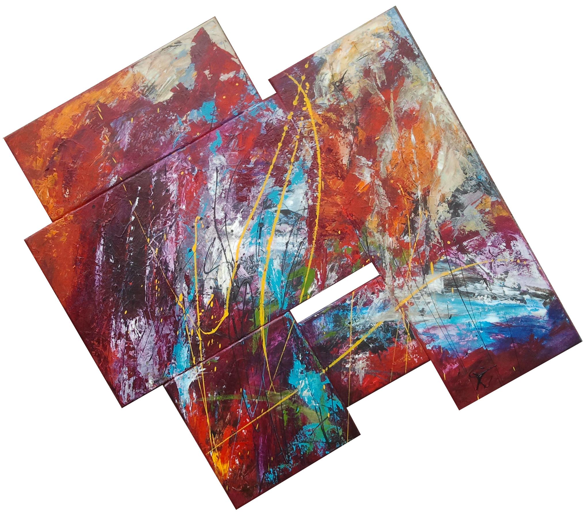 Wild Thing 110 x 120 cm € 1195