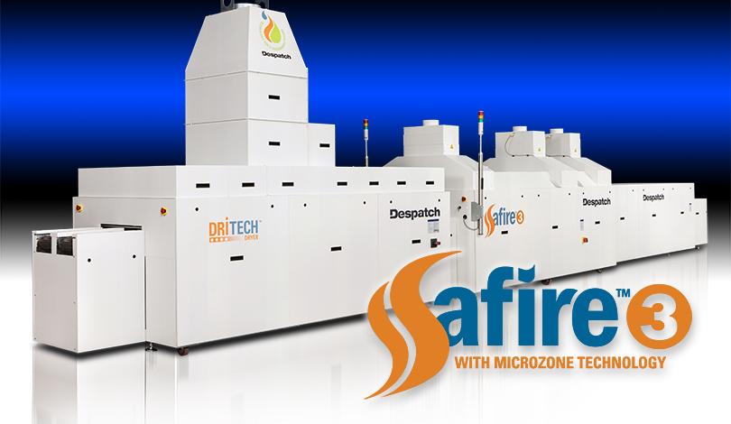 Infrarot-Durchlauföfen für Applikationen bis 1000°C