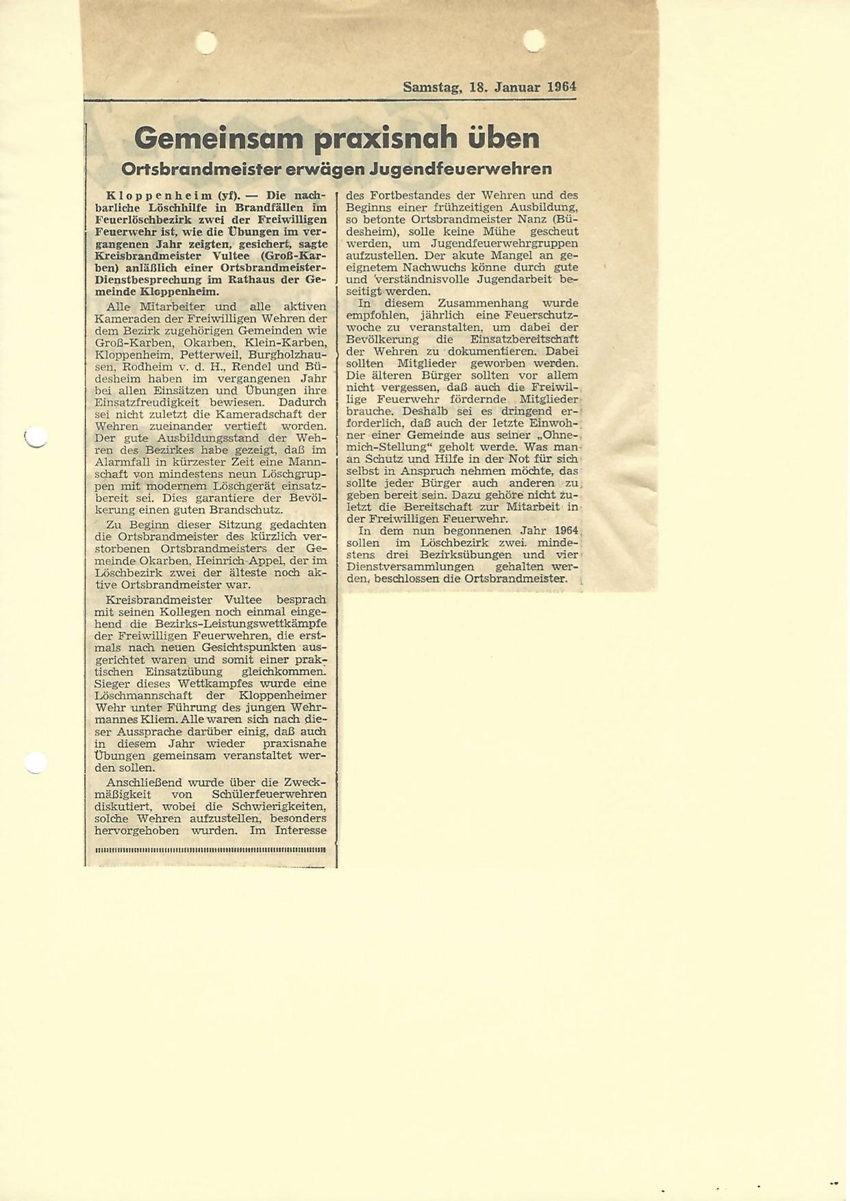 Zeitung 1964 4