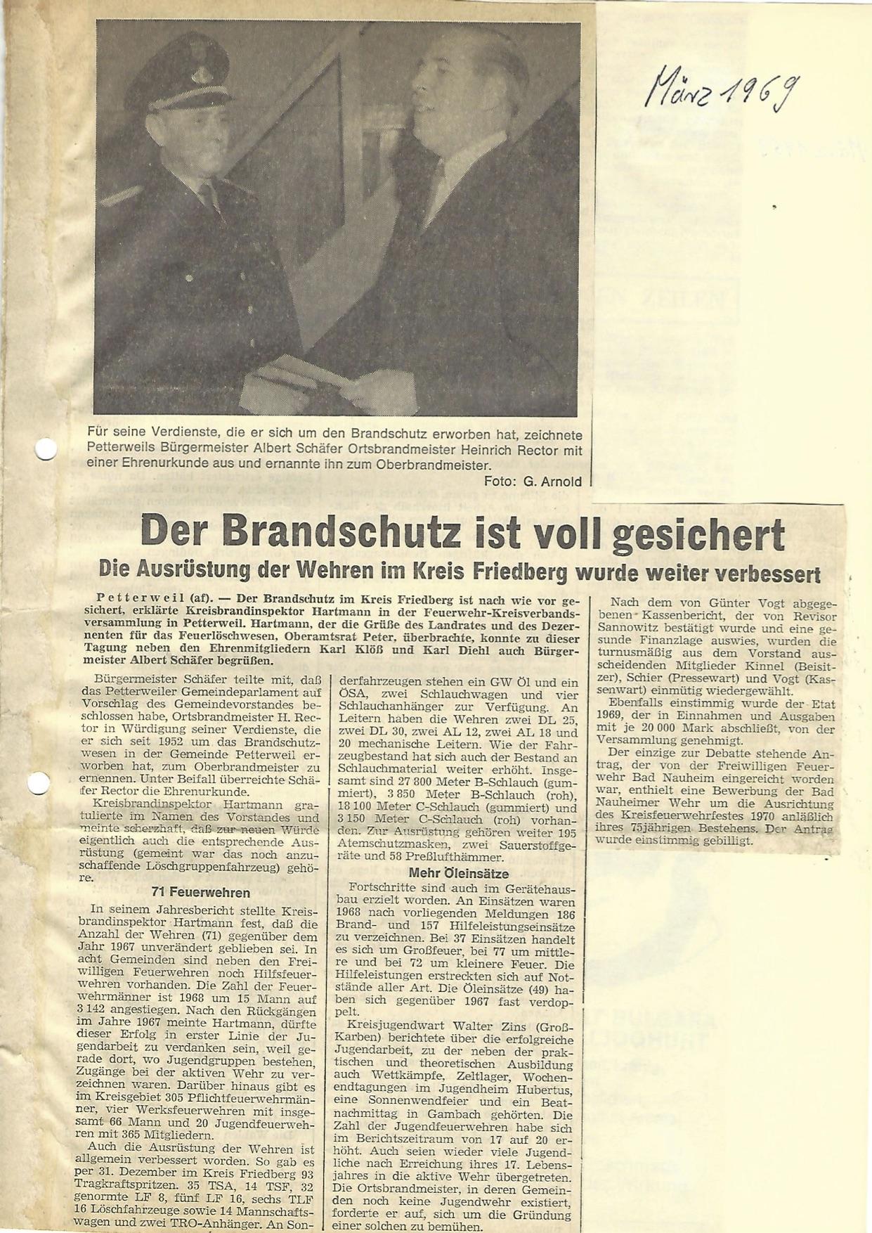 Zeitung 1969