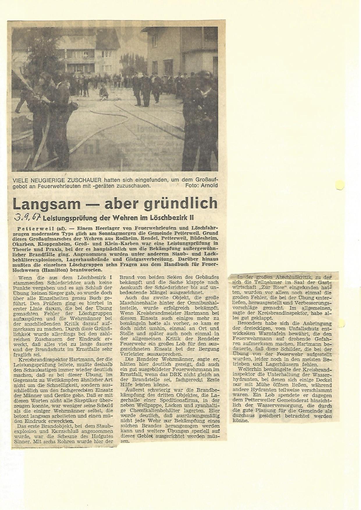 Zeitung 1967