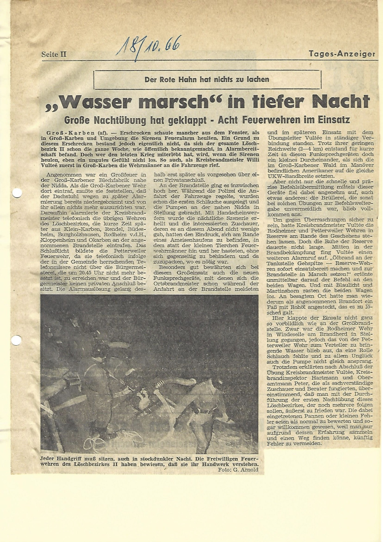 Zeitung 1966