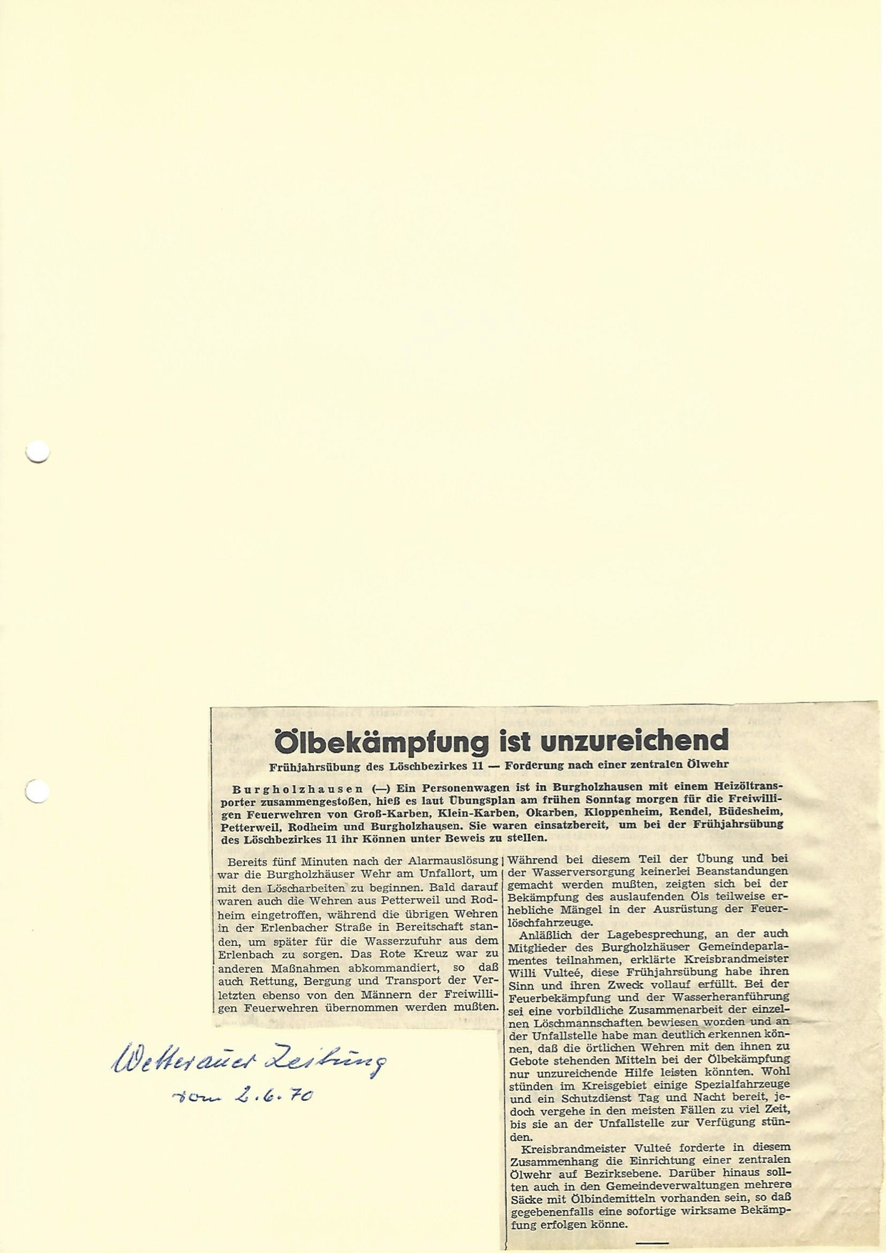Zeitung 1970 2