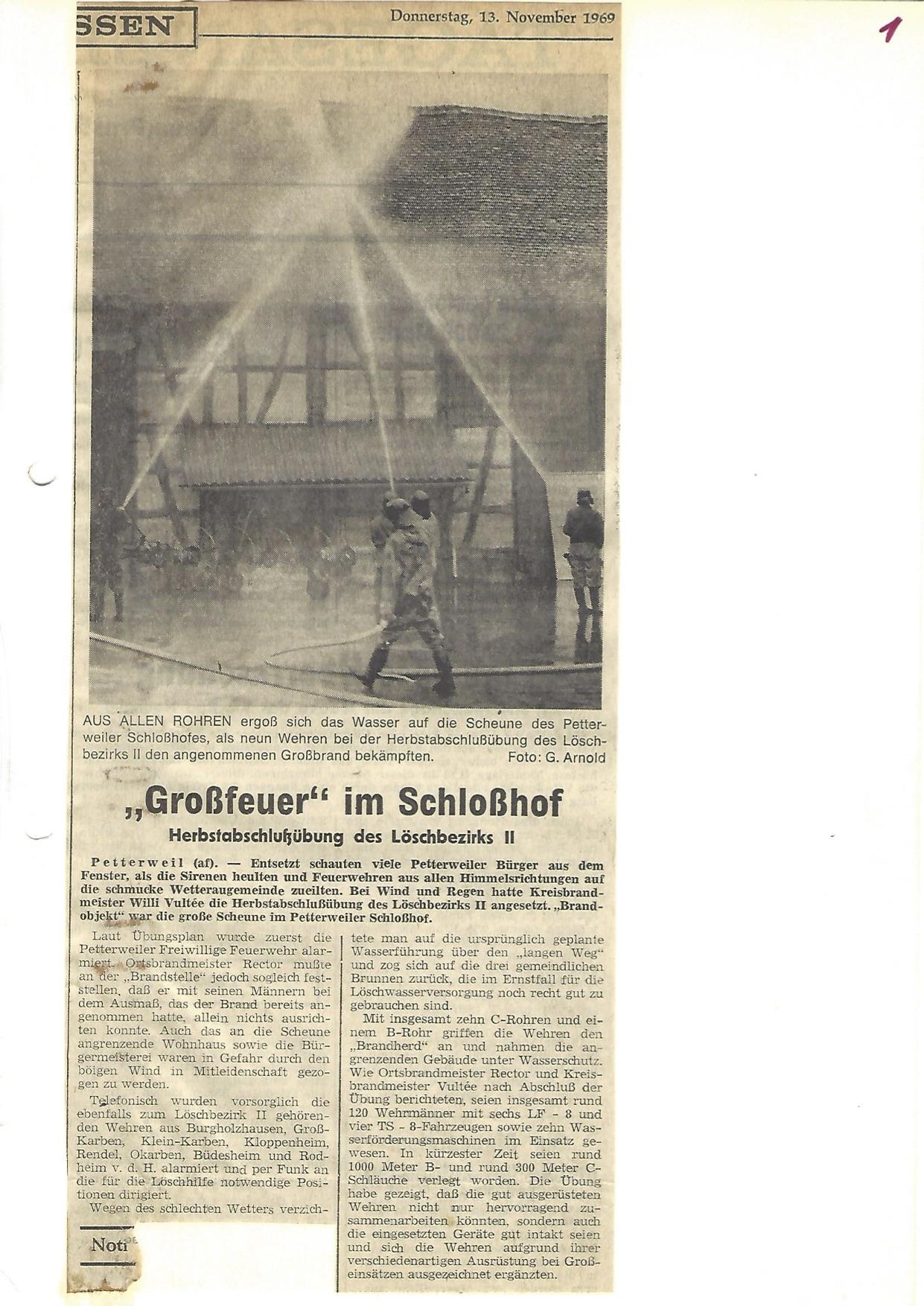 Zeitung 1969 1