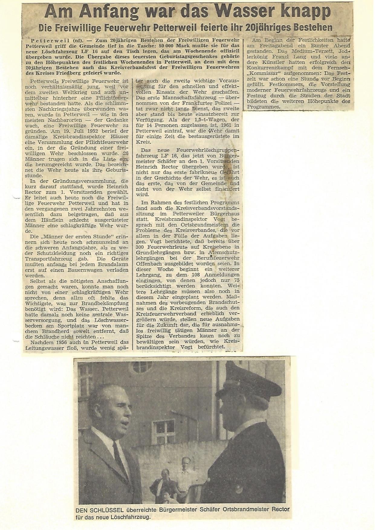 Zeitung 1972 1